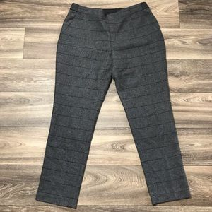 Uniqlo Dark Gray Wool Blend Trouser Pants